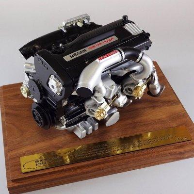 画像1: RB26DETT エンジン 1/6 scale MODEL(BCNR33)