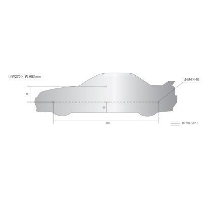 画像2: SKYLINE GT-R 表札(R32)