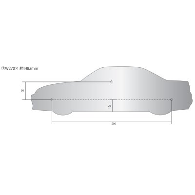 画像2: SKYLINE GT-R 表札(R33 ATUTECH VERSION)