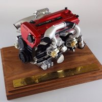 RB26DETT エンジン 1/6 scale MODEL(BNR34)