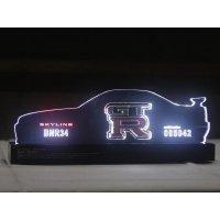 SKYLINE GTR LEDオーナメント(BNR34)