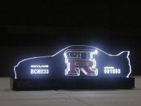 SKYLINE GTR LEDオーナメント(BCNR33)