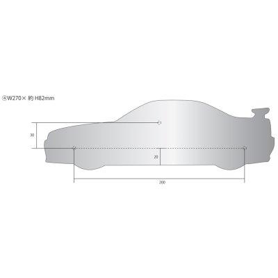 画像2: SKYLINE GT-R 表札(R34)