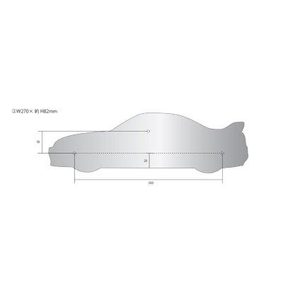 画像2: SKYLINE GT-R 表札(R33)