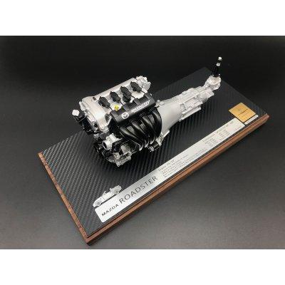 画像2: 1/6scale エンジンモデル ND型ロードスター「P5-VP」MT付き